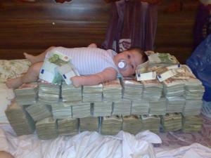 นอนบนเงิน